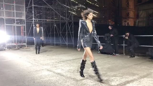 The sky may have opened up but the rain did not dampen the glamour of @anthonyvaccarello's second outing for @ysl! #HarpersBazaarSG #PFW #FW17 @kennieboy  via HARPER'S BAZAAR SINGAPORE MAGAZINE OFFICIAL INSTAGRAM - Fashion Campaigns  Haute Couture  Advertising  Editorial Photography  Magazine Cover Designs  Supermodels  Runway Models