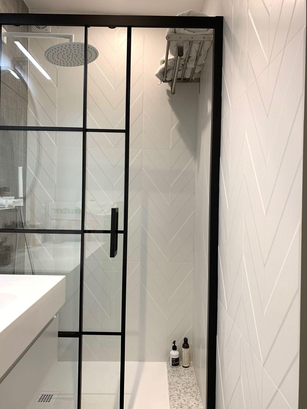 Appartement Paris 3 Renovation 50 M2 Avec Balcon Salle De Bain Salle De Bain 3m2 Idee Salle De Bain