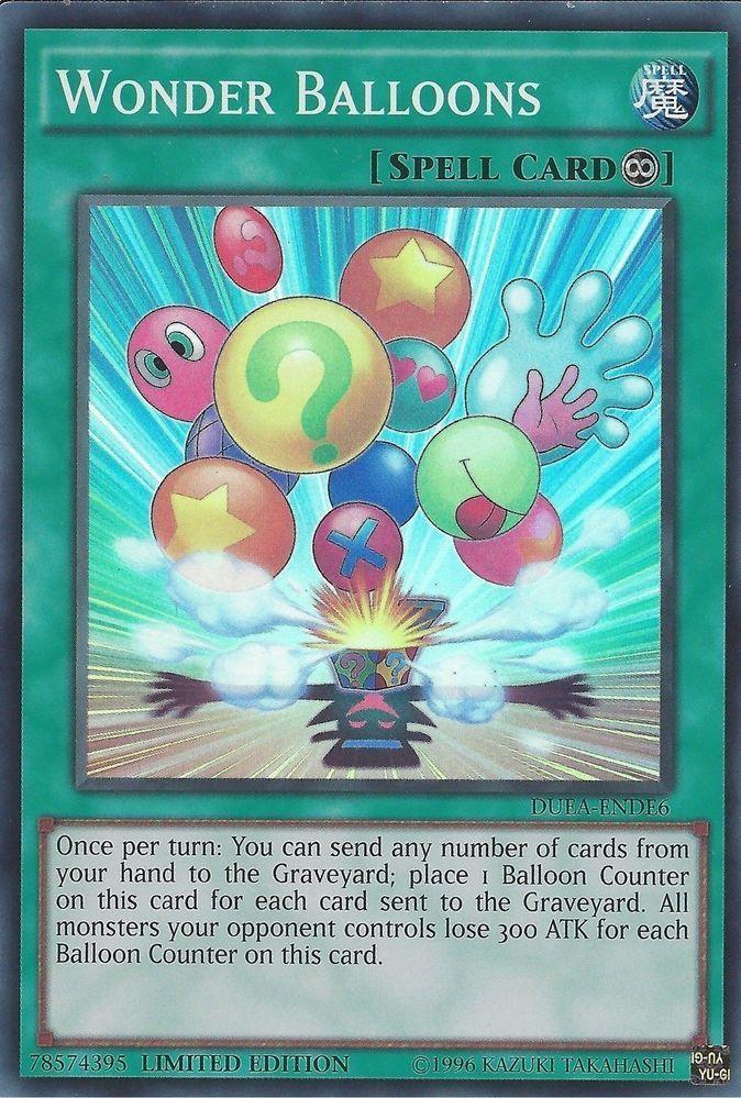 Wonder Balloons DUEA-ENDE6 - PROMO YuGiOh Duelist Alliance Super Rare #Konami