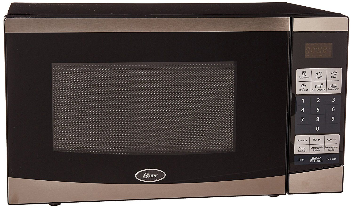 Ft Compact Microwave Stainless Steel Black Ogyu701