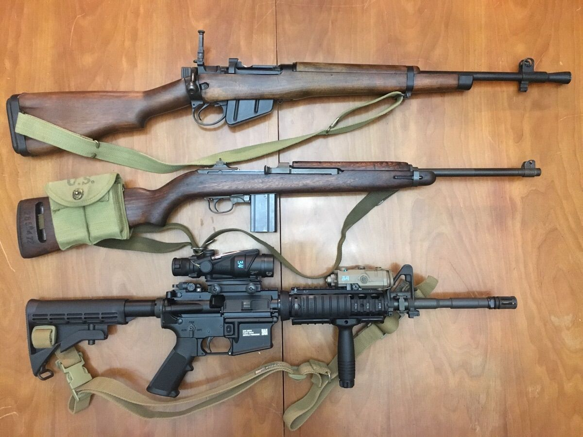 no 5 mk1 jungle carbine m1 carbine m4 carbine i like carbines