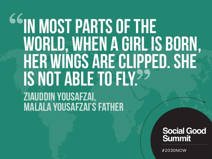 Gender Equality Quotes | Ziauddin Yousafzai / Quotes from the 2013