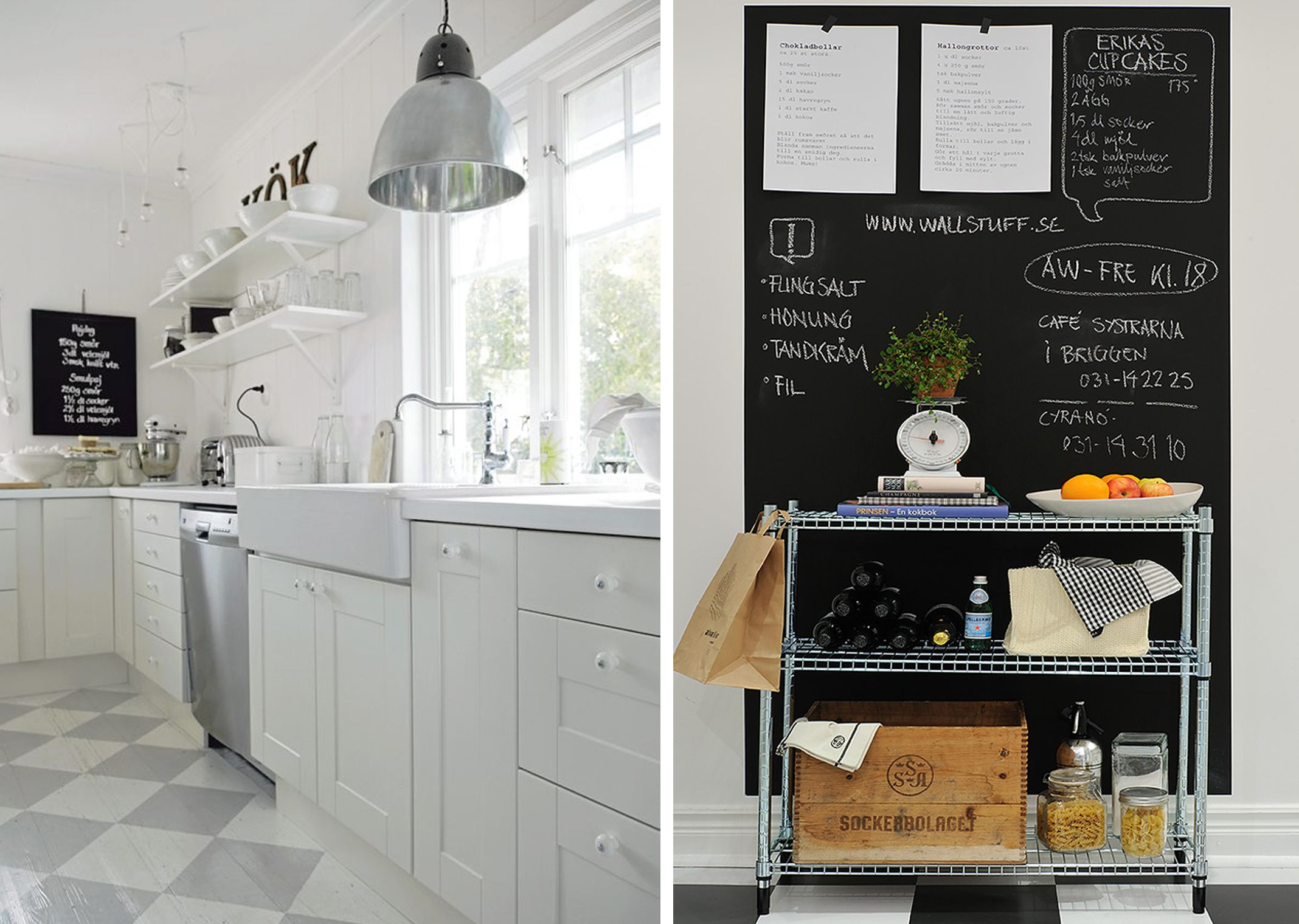 Chalkboard paint in kitchen dream home pinterest chalkboard