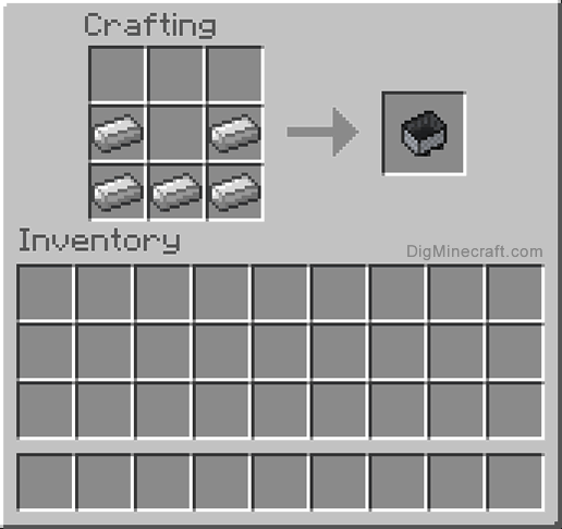 How To Make A Minecart In Minecraft And More Crafting Recipes Crafting Recipes Minecraft Crafting Recipes Minecraft Food