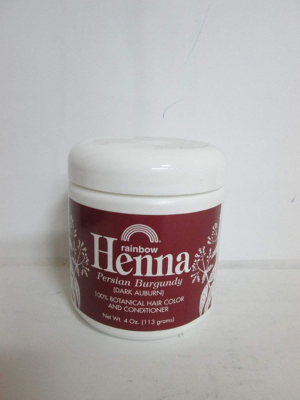 5e10235477ff8 Rainbow Research Henna Hair Color and Conditioner Persian Burgundy Dark  Auburn - 4 oz >>