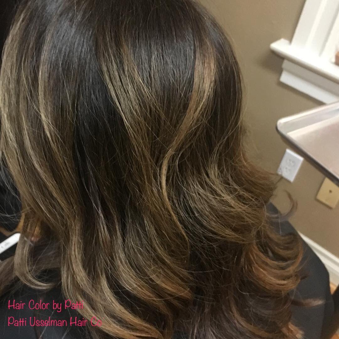 Balayage Hair Color By Patti Usselman Patti Usselman Hair Co Spokane Wa Ombre Balayage Long Hair Styles Balayage Hair