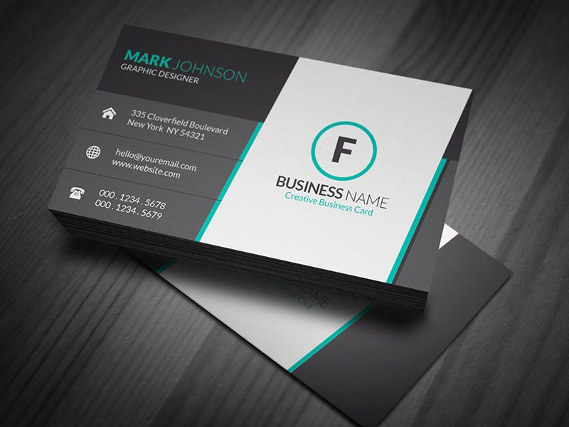 Creative Business Card Psd Vorlagen Sowie Kreative