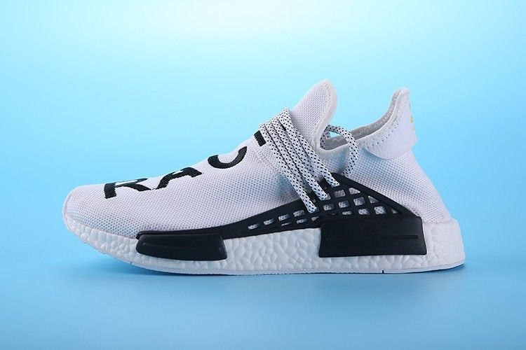 "343bf3dae Pharrell Williams X adidas NMD HUMAN RACE ""white black"" S79165 Unisex Size  EUR 36-45"