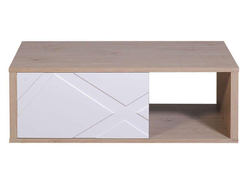 Table Basse Rectangulaire 1 Tiroir Graphik Coloris Blanc Vente De Table Basse Conforama Table Basse Table Basse Conforama Table Basse Rectangulaire