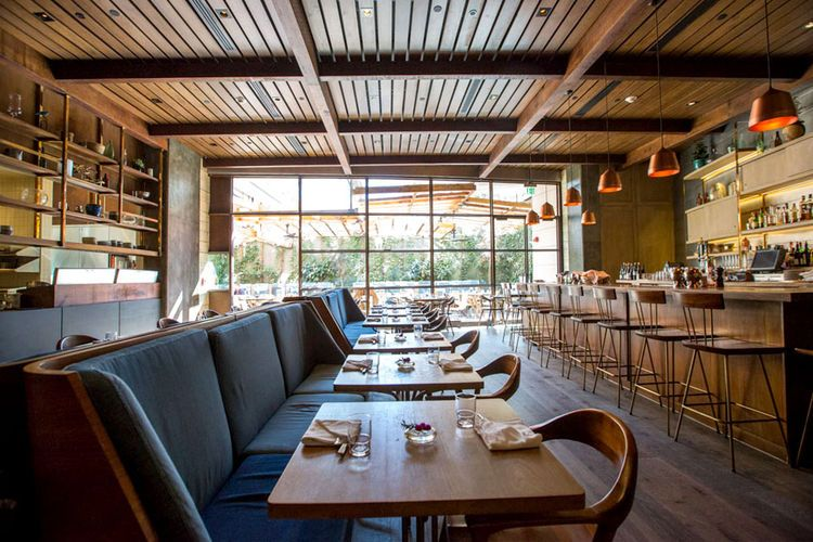 restaurant design awards AIA Los Angeles Hinoki and the Bird