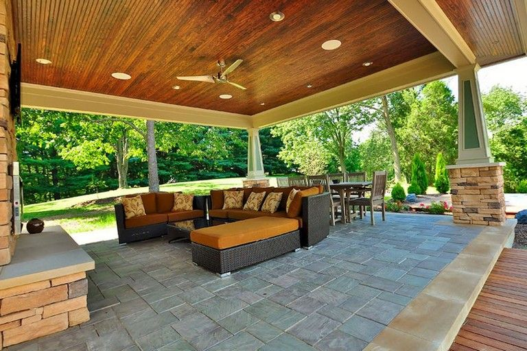 45 Awesome Outdoor Living Space Design For Comfortable Relaxing Space Ideas Livingroomideas L Outdoor Living Space Design Outdoor Living Space Living Spaces
