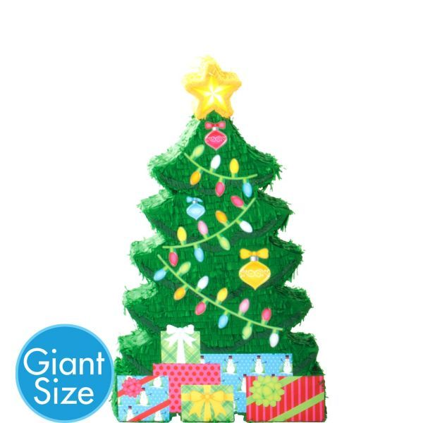Attractive Christmas Tree Pinata Part - 12: Giant Christmas Tree Pinata