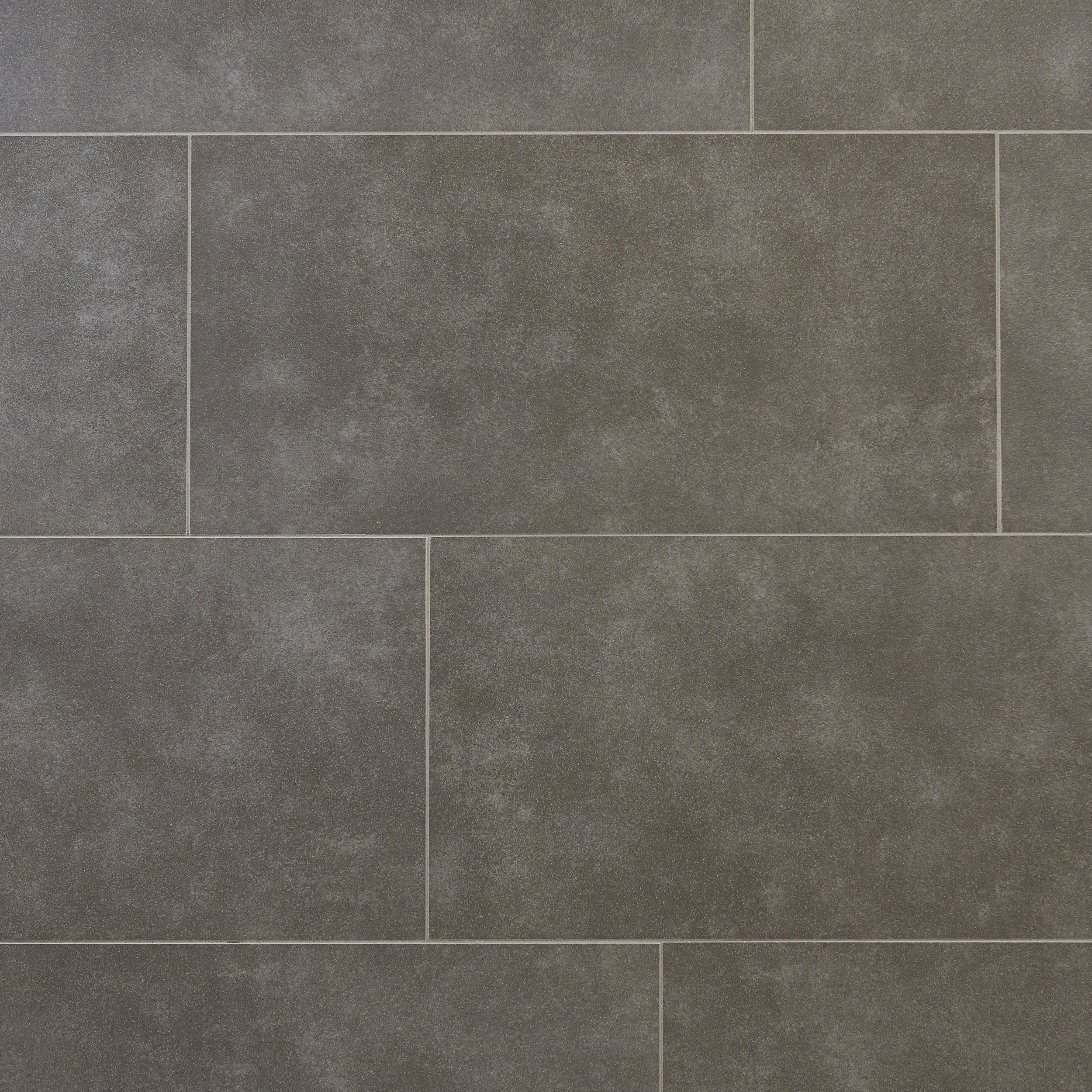 Concrete Gray Ceramic Tile Floor Decor Tile Layout Flooring Porcelain Tile