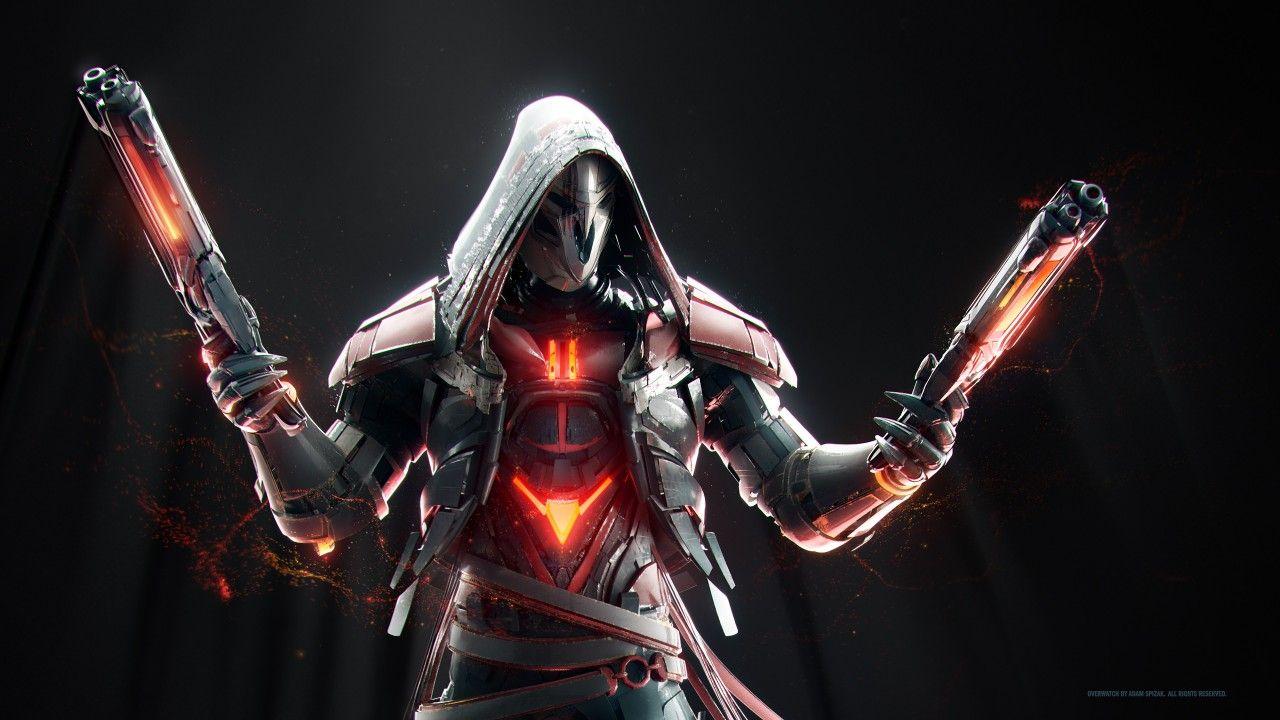 Reaper, Overwatch, HD Overwatch wallpapers, Overwatch