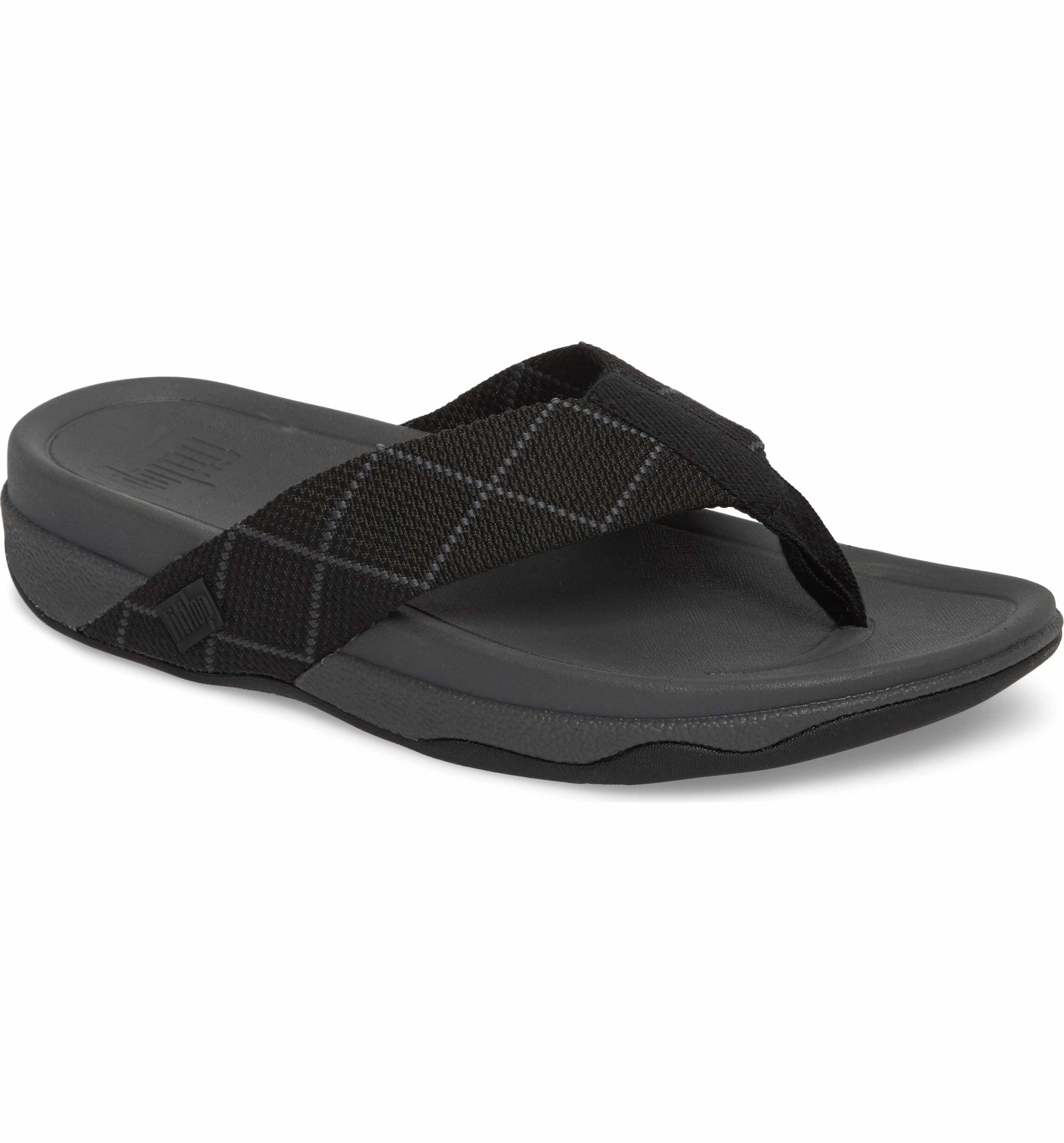 56fd3eb637a28 Easy Spirit Sandals · Fitflop Surfer Flip Flop (Men) Fitflop