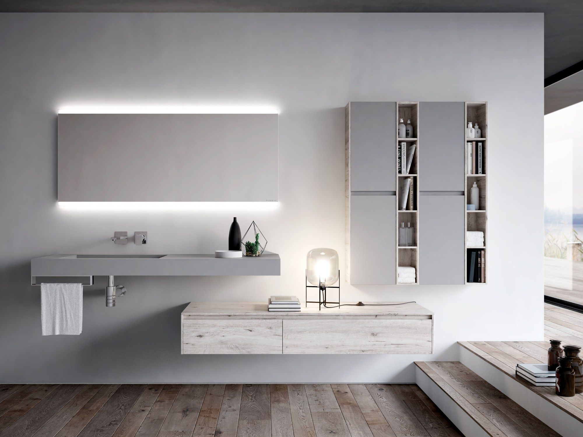 Wunderbar NYÙ 14 Bathroom Furniture Set By IdeaGroup