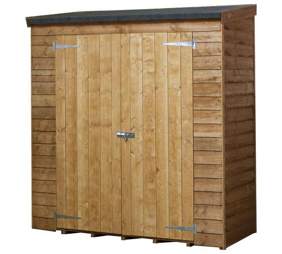 Buy Mercia 6ft X 2ft 6in Overlap Pent Multi Tool Store At Argos Co Uk Visit Argos Co Uk To Shop Online For Garden Storage Boxes An Bike Shed Shed Wooden Sheds