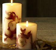 Potterybarn Holiday Candles