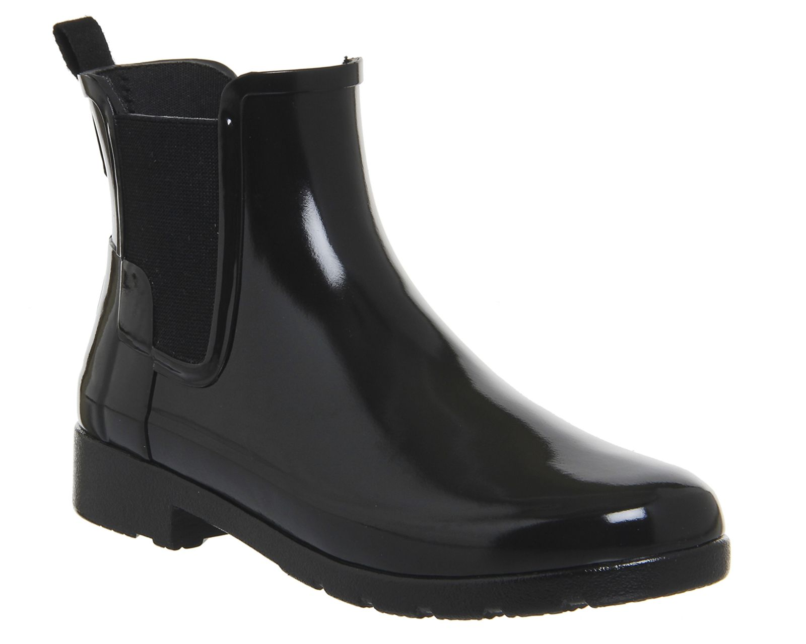Hunter Original Refined Chelsea Rubber Boots – Black