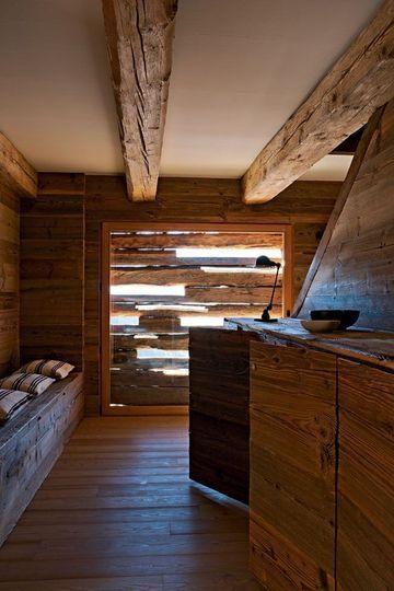 Déco en bois : nos meilleures idées déco en bois | Biba | Chalet ...