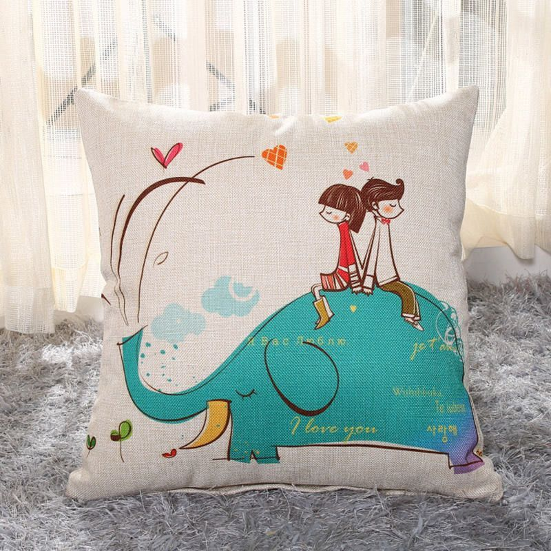 Baby Elephant Throw Pillow Covers