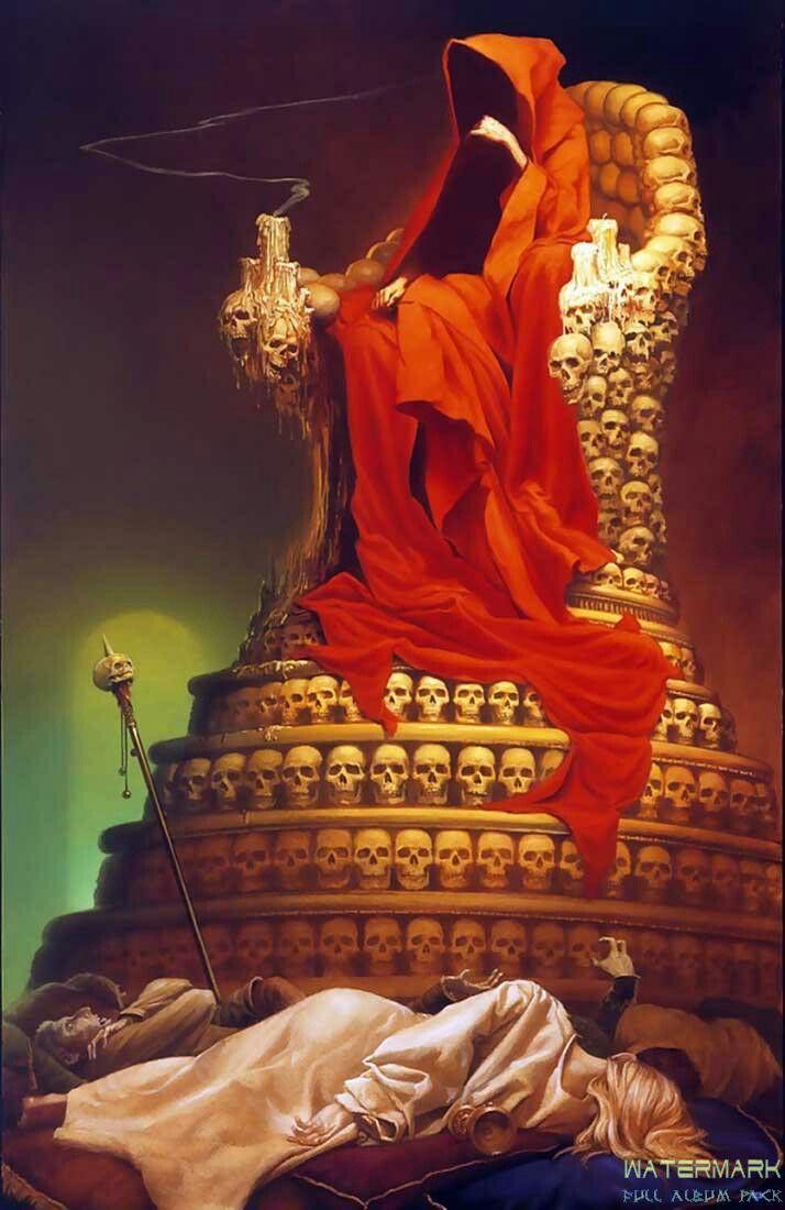 El Rey Carmesí | Arte | Pinterest | Rey, Libros y Arte
