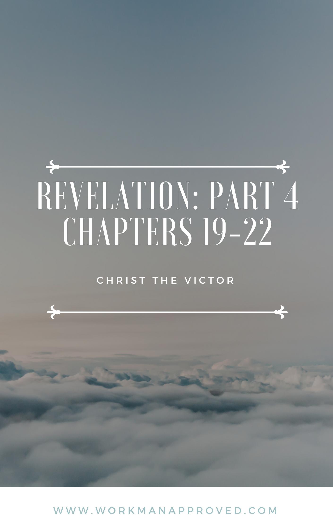 Free Printable Inductive Bible Study On Revelation 19 22