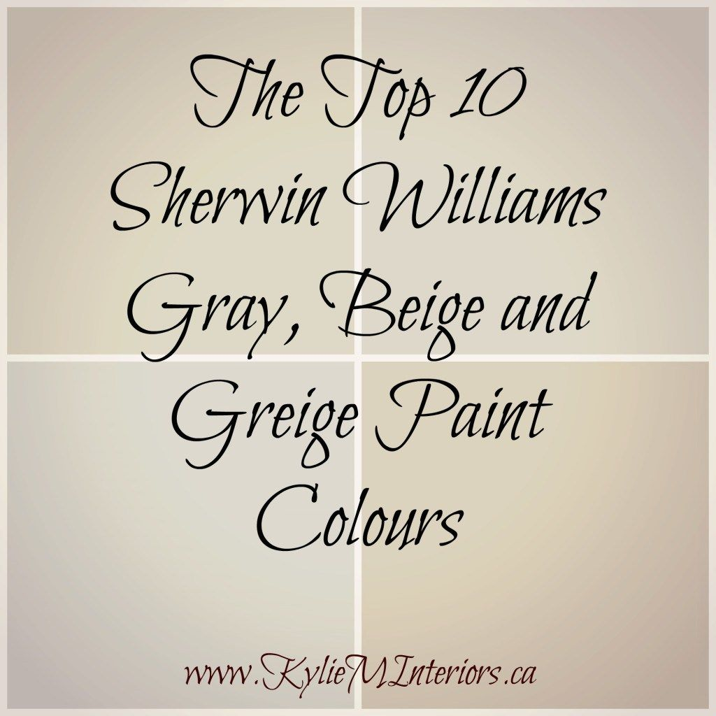 The Best Top 10 Sherwin Williams Gray Beige And Greige Paint Colours For Any Room In Your Home