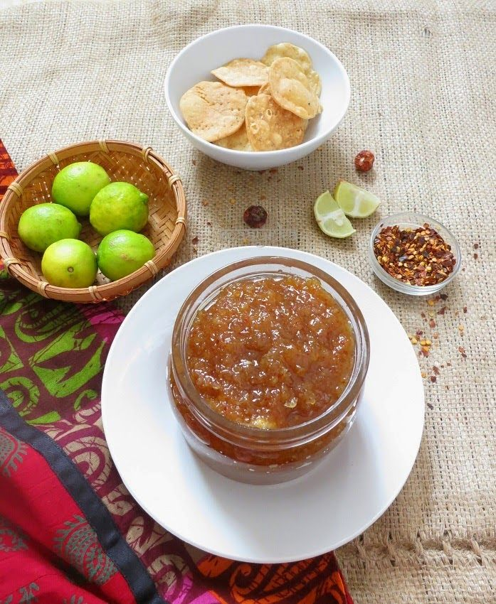 Maayeka - Authentic Indian Vegetarian Recipes: Lemon Chutney
