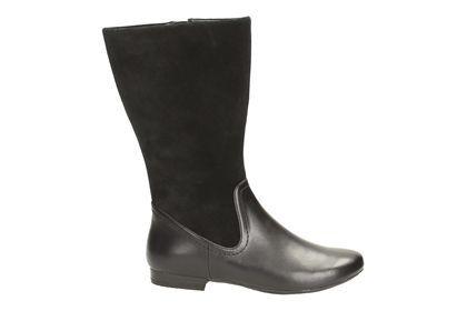 Diese modischen Hingucker lassen sich stylish mit Röcken, Kleidern oder über Röhrenhosen kombinieren. Bestellen Sie die Mountain Mist Damenstiefel für 110,00 Euro: http://www.clarks.de/p/26113106