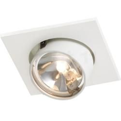 Photo of Mawa Wittenberg recessed ceiling light, white, Ral 9016 Mawa Design