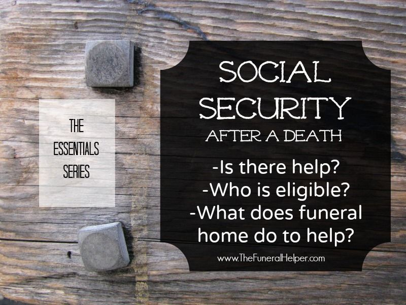 Applying For Social Security Benefits After Death Does Not Need To