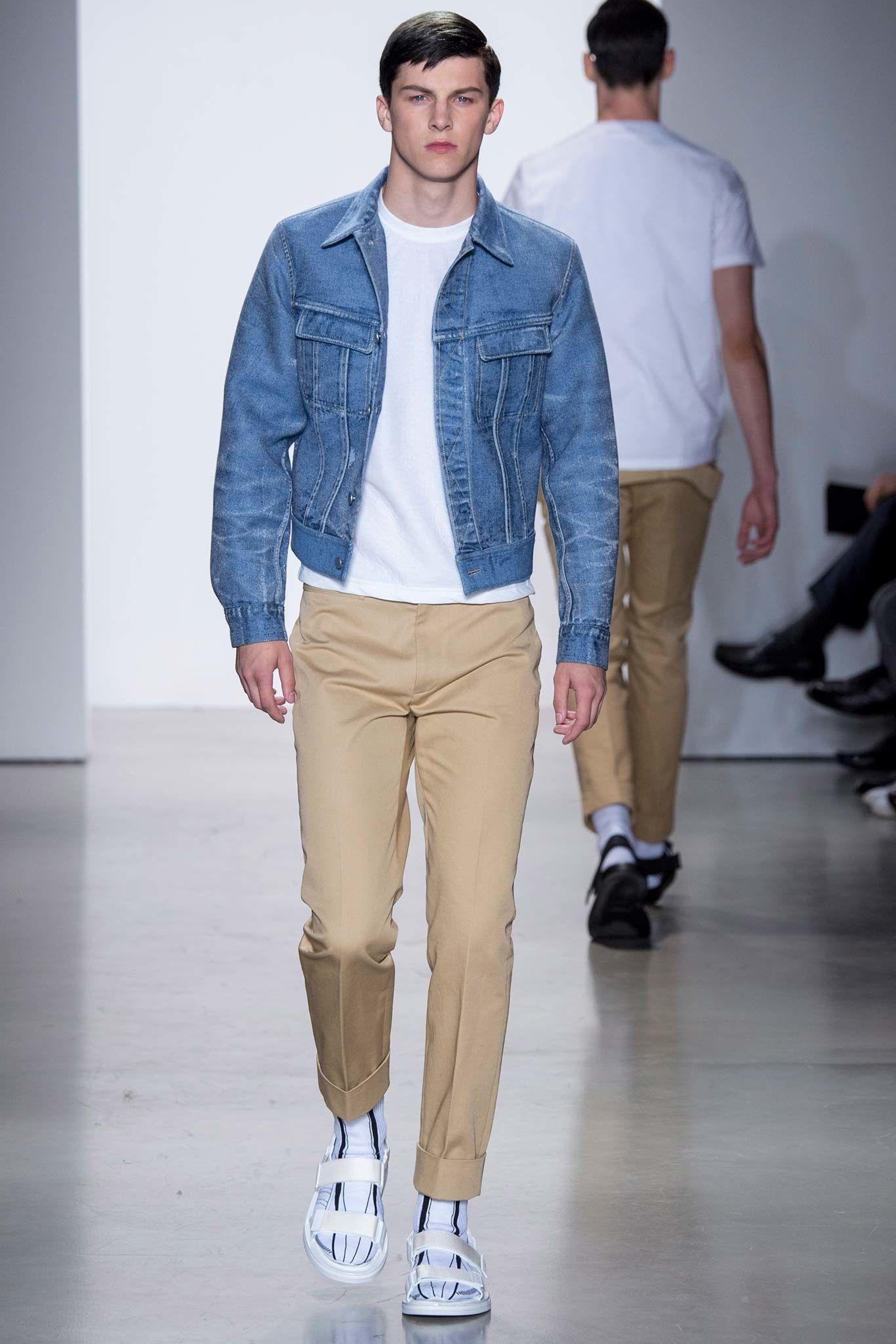 08459ef667 Calvin Klein Collection Spring 2016 Menswear Fashion Show - Ben Jordan