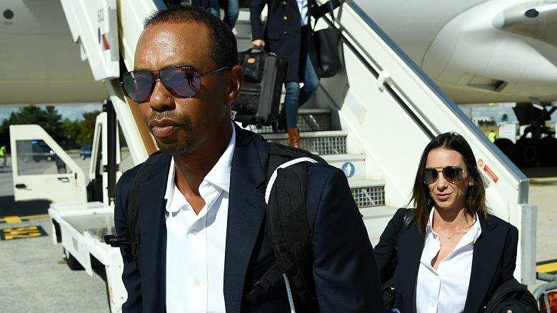 Tiger Woods & Girlfriend Erica Herman Wear Matching ...