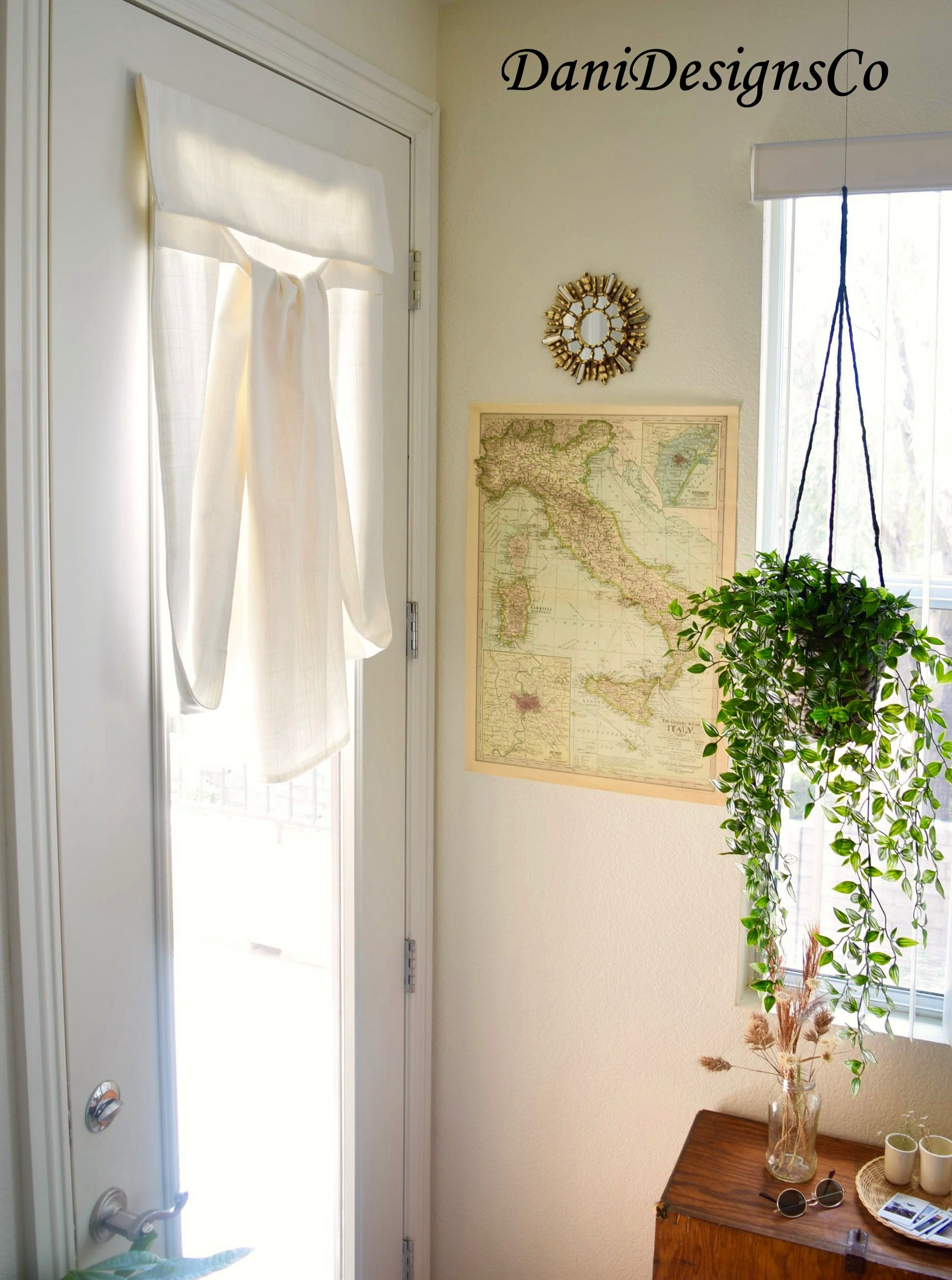 White 25 W X 70 L Washable French Door Curtain Color Is Off