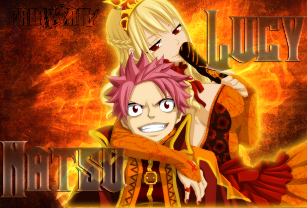 fairy tail 2014 wallpaper natsu and lucy Google Search