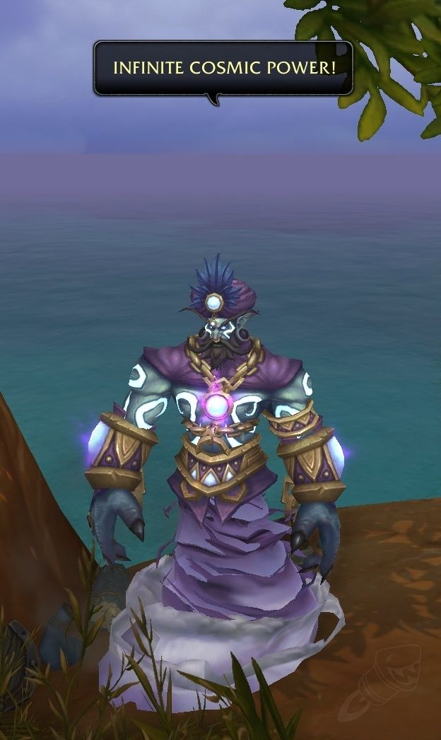 First Robin Williams In Game World Of Warcraft Memorial Spotted In