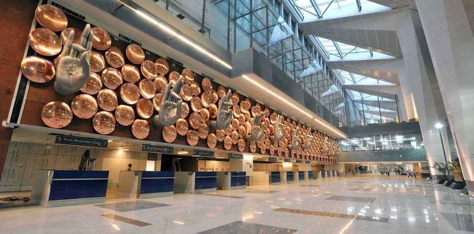 hok indira gandhi international airport terminal 3. Black Bedroom Furniture Sets. Home Design Ideas
