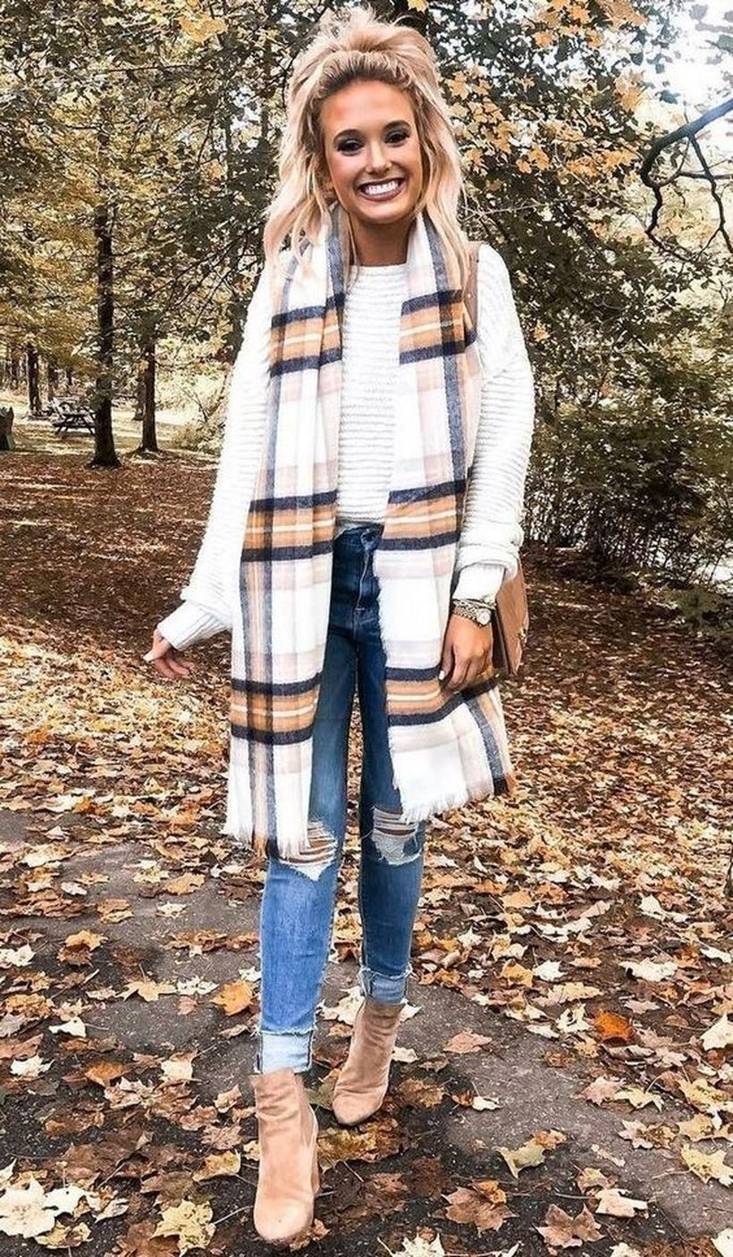25 Casual Fall Outfit Inspiration for Everyday Style To be able to easily accept…