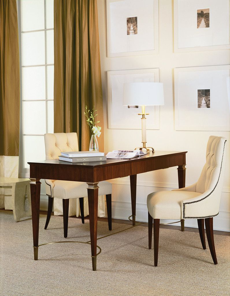 The Baker Furniture Paris Writing Table Is Inspired By Parisian Designers Of The Early 20th Century This Writing Meuble Chaise Salle A Manger Fauteuil Bureau