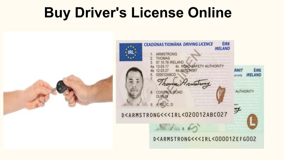 buy driver's licence online
