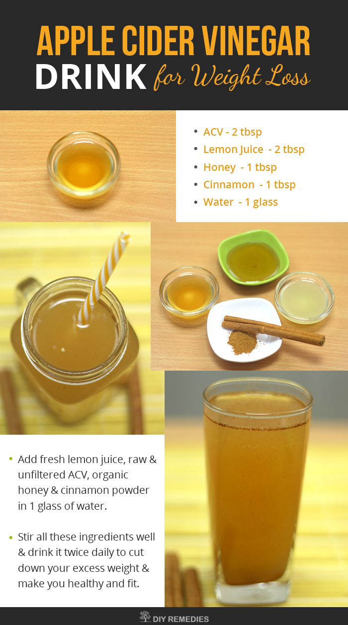 Apple Cider Vinegar Apple Juice Drink