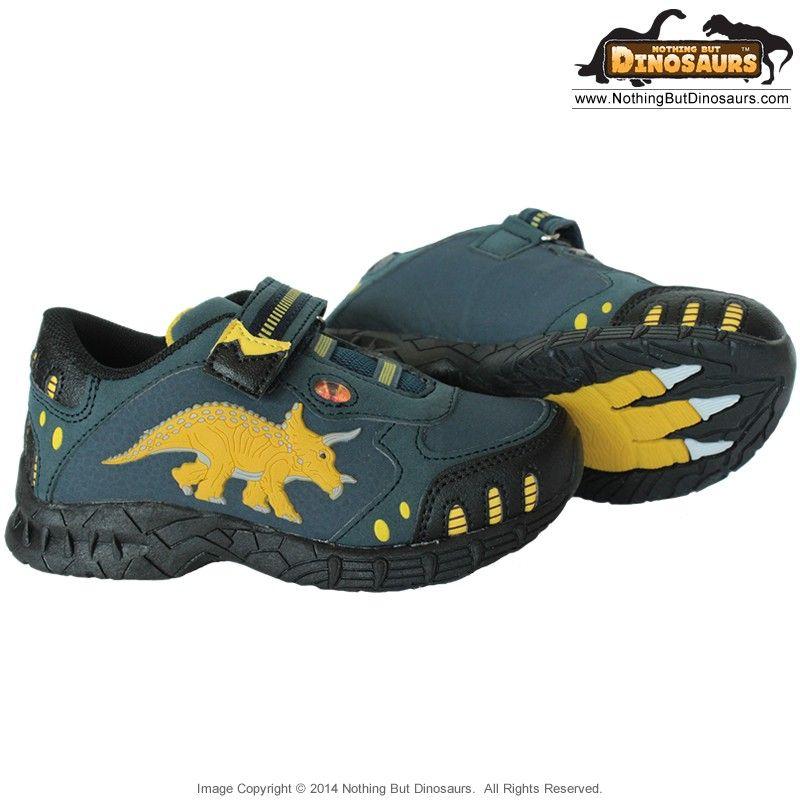Dinosoles Blue DinoFit Low Top Shoes