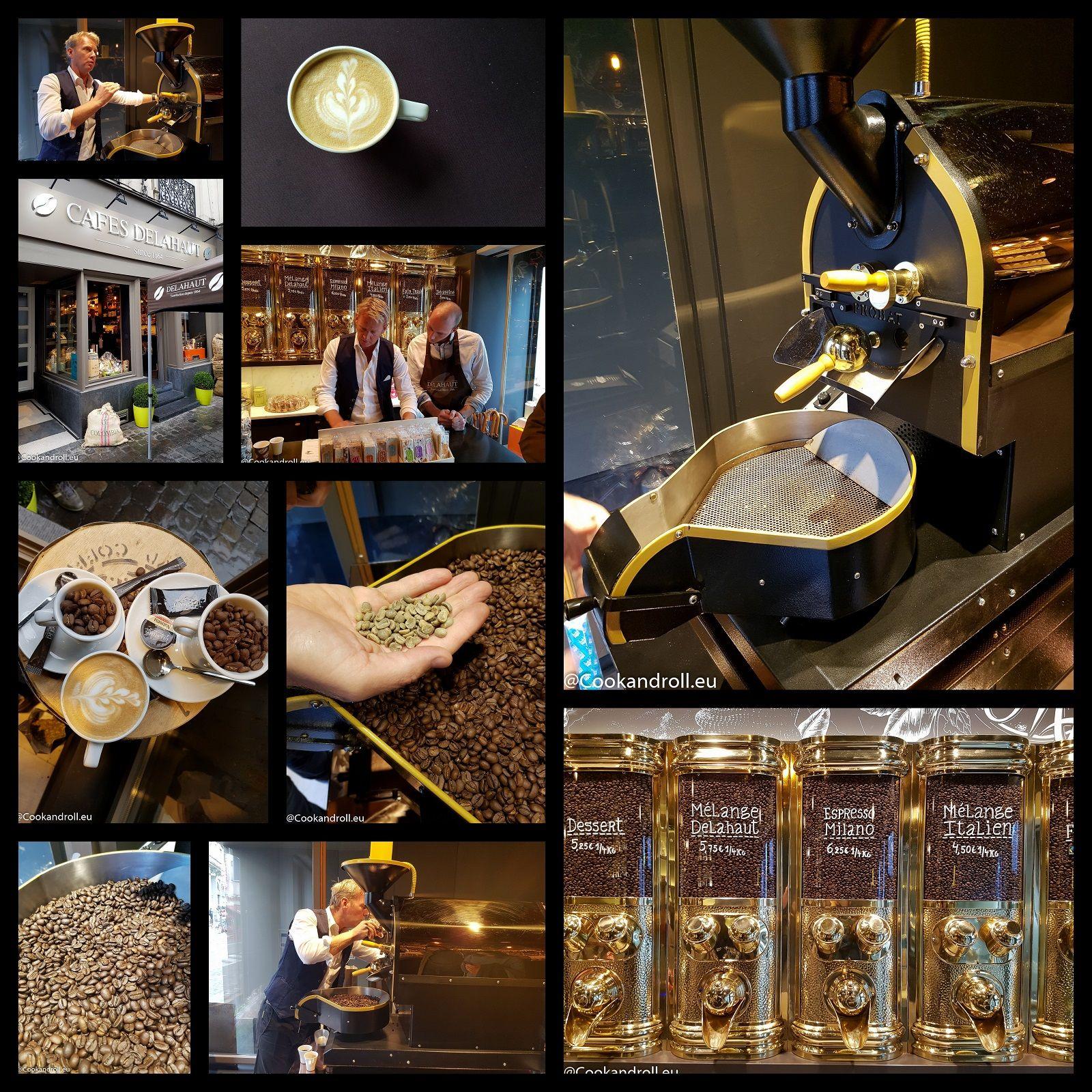 Je vous emmène à la découverte des Cafés Delahaut, torréfacteur à Namur et Bruxelles, et leur étonnante torréfaction 'sur mesure' pour particuliers!  Je vous raconte tout sur Cookandroll.eu : http://www.cookandroll.eu/archives/2016/10/16/34445566.html