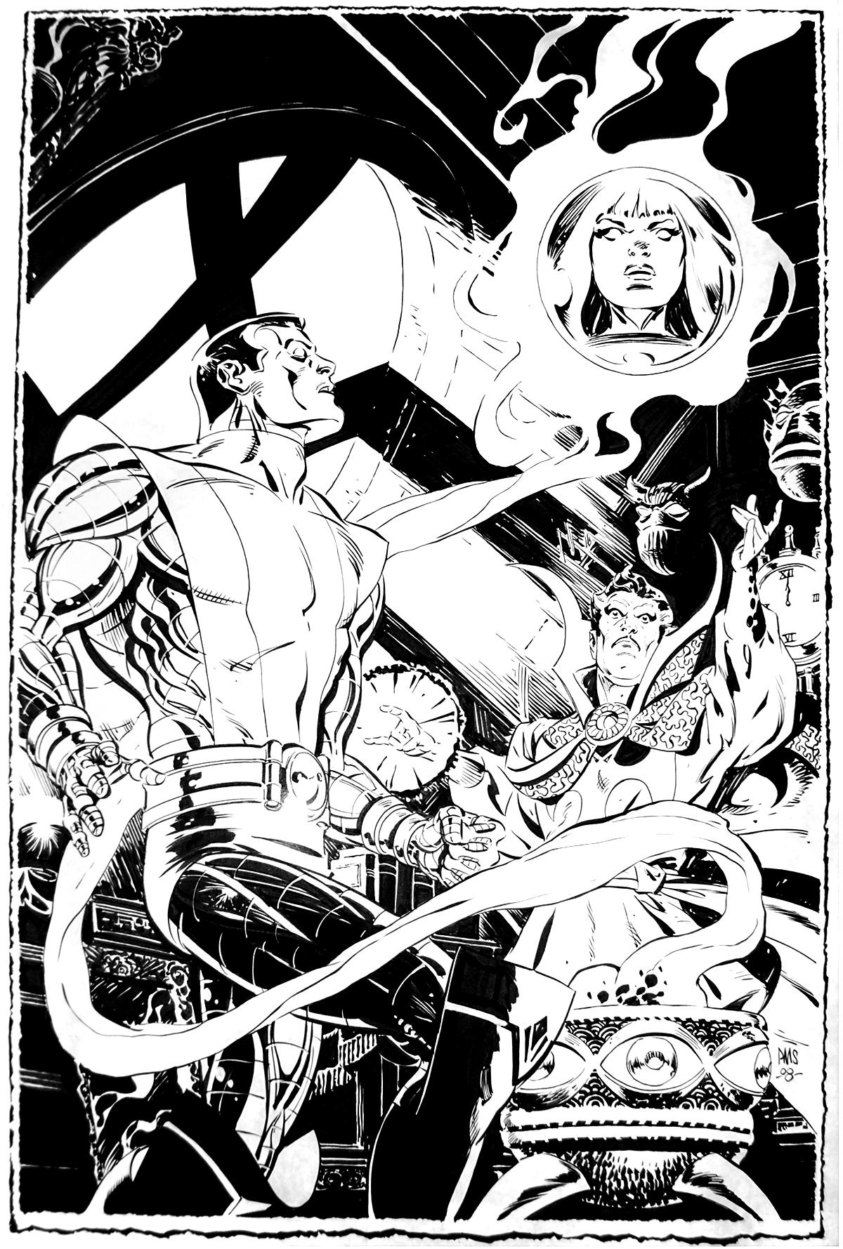 Commissions  Comic Art, Art, Art Pages-8522