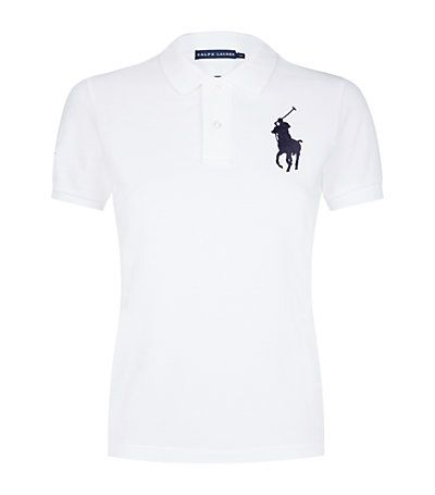 Ralph Lauren Blue Label Wimbledon Cotton Polo Shirt