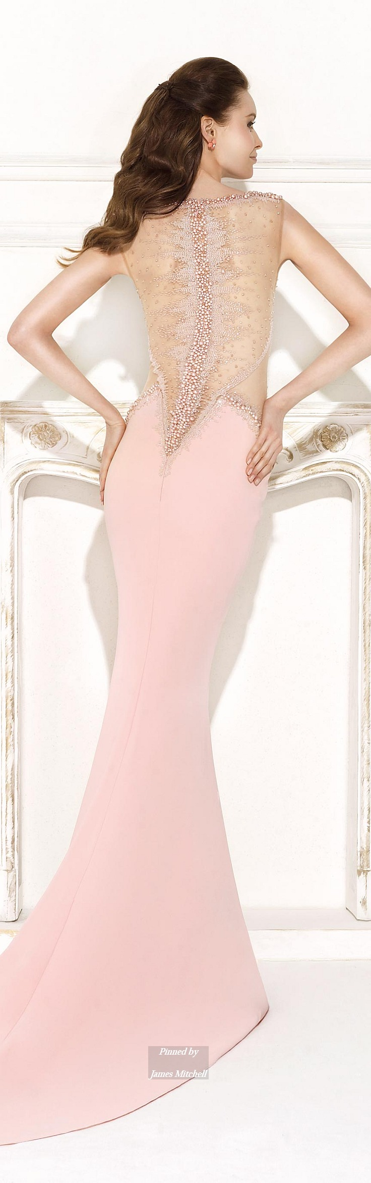 Reception and Evening Dresses by Tarik Ediz | Vestidos de fiesta ...