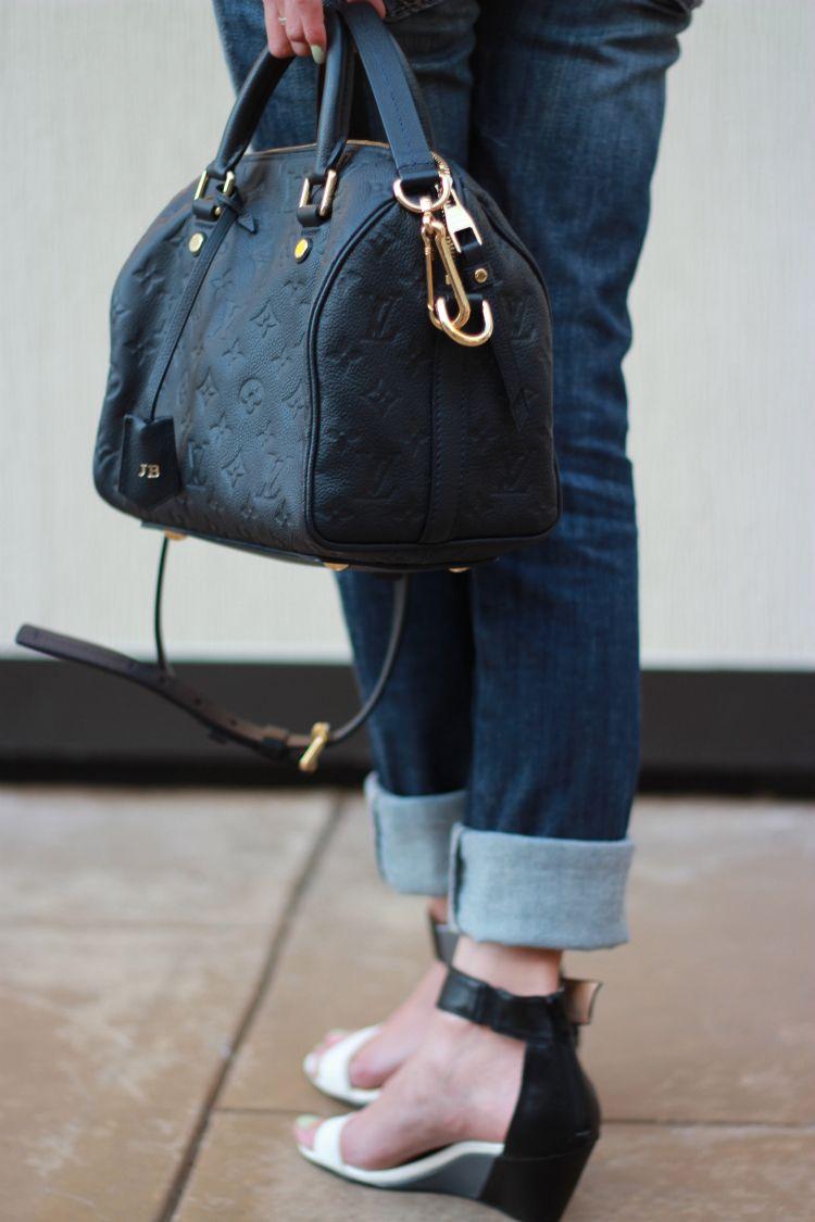 Louis Vuitton Empreinte Speedy In Infini With Clochette Heatstamped