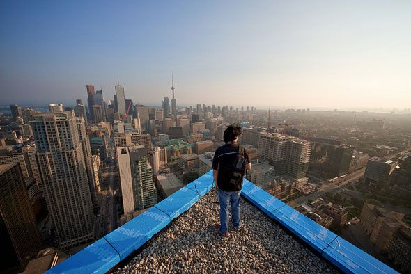 """Above"""" – Urban Rooftop and Skyline Photography by Aurelie Curie ..."""