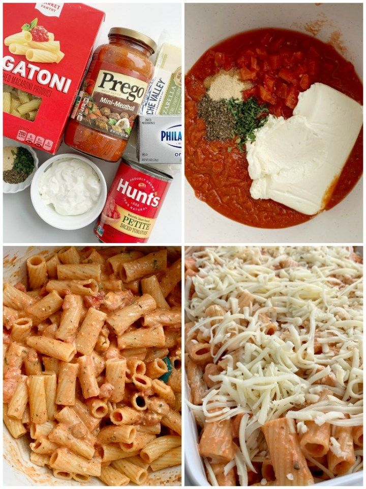 Ziti Pasta Bake   Together as Family